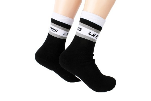 knitted athletic sock